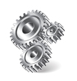 object gears vector image