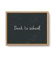 Blackboard in a wooden frame
