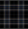 blue black tartan plaid seamless pattern vector image vector image