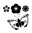 Butterfly design vector image