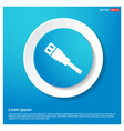 ethernet cable icon vector image