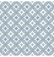 retro pattern - lines circles and diamond stars vector image