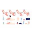 wellness center foot spa health nature bath vector image vector image