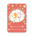cute hand drawn doodle birthday party baby shower vector image