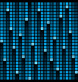 pixel rain background vector image