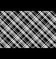 black white abstract diagonal fabric texture vector image vector image