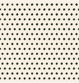 hand made perforated pattern with irregular vector image vector image