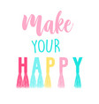 slogan for girl print design vector image vector image