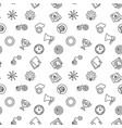 startup seamless pattern or background vector image