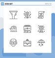 universal icon symbols group 9 modern outlines