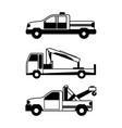 accident transport vector image vector image