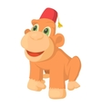 Circus monkey icon cartoon style vector image vector image