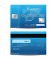 credit card concept vector image