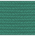 Decorative knit seamless pattern vector image vector image