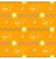 Seamless summer pattern vector image