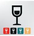 Shot drink icon vector image