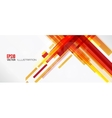 Abstract lines background with colored elements vector image