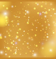 bokeh light background vector image vector image