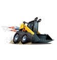 Cartoon Skid Steer vector image vector image