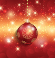 christmas background 1809 vector image vector image