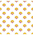 clown face pattern vector image vector image