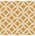 gold background and pattern curve pattern japane vector image
