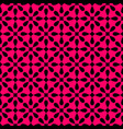 seamless black and pink pattern with tile print vector image vector image