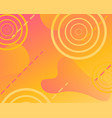 sunny background with fluid gradient vector image vector image