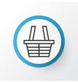 trading basket icon symbol premium quality vector image vector image