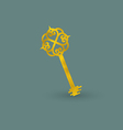 Vintage Golden Key vector image
