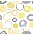 Seamless brush strokes vector image