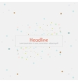 Background Dots vector image vector image
