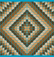 brown geometrical background vector image vector image