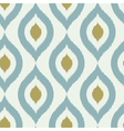 Geometric retro ikat tribal seamless pattern vector image