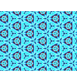 ice seamless pattern in the form of overlapping vector image vector image