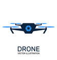 photo and video drone icon vector image
