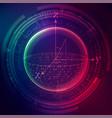 quantum computing vector image