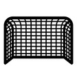 soccer gate football gate handball gate concept vector image vector image