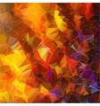 Abstract background geometric angular pattern vector image