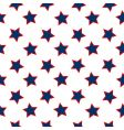american stars flag pattern vector image vector image