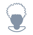 avatar of a man head vector image