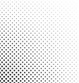 Black and white pentagram pattern background vector image vector image