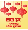 Chinese Patterns for new year celebration vector image