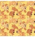 funny cartoon puppies vector image vector image