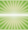 green color burst vector image vector image