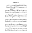 Music note sheet with abstract melody on white vector image vector image