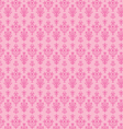 pink seamless paisley vector image vector image