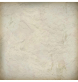 Vintage crumpled old paper textured background vector image vector image