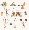 circus set vector image