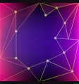 background template with pink and blue color vector image